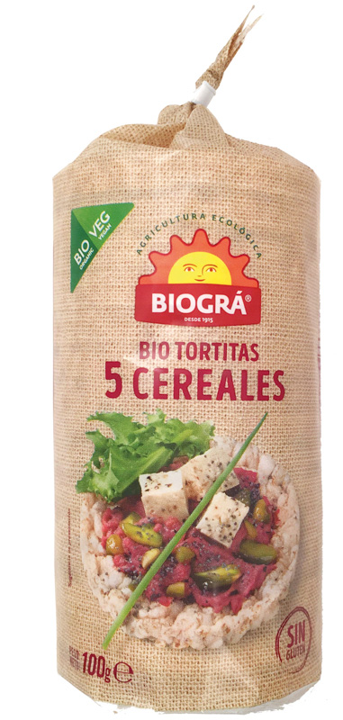 COQUETES 5 CEREALS Sol Natural 100g