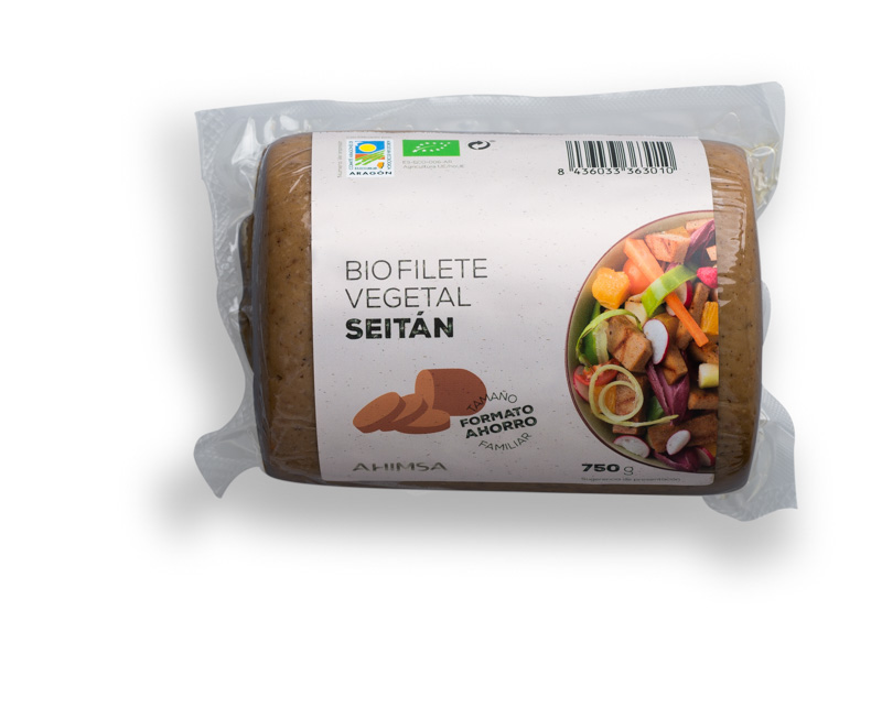 BIO FILET VEGETAL DE SEITAN Ahimsa 750g