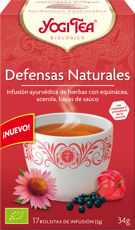 YOGI TEA DEFENSES NATURALS 30,6g